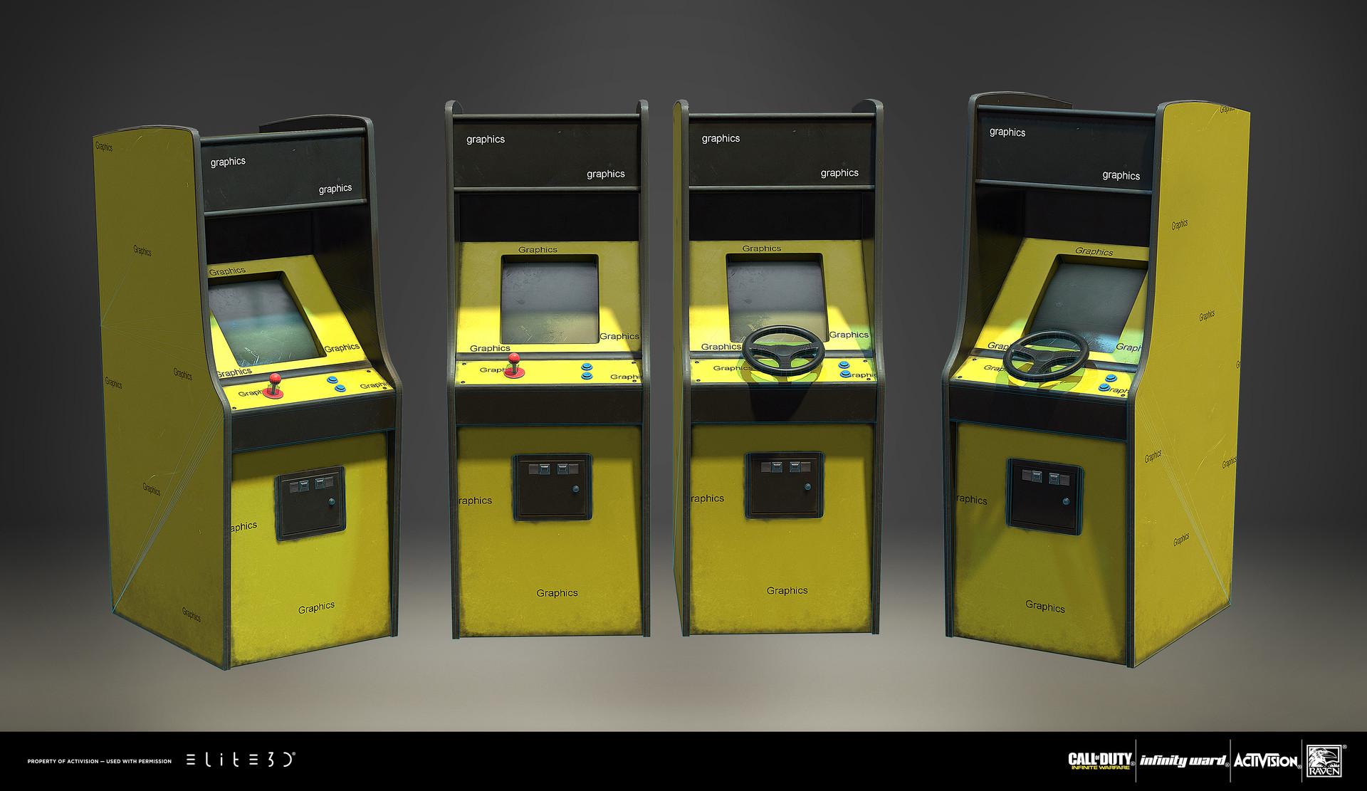 Boy sichterman elite3d iw park arcade