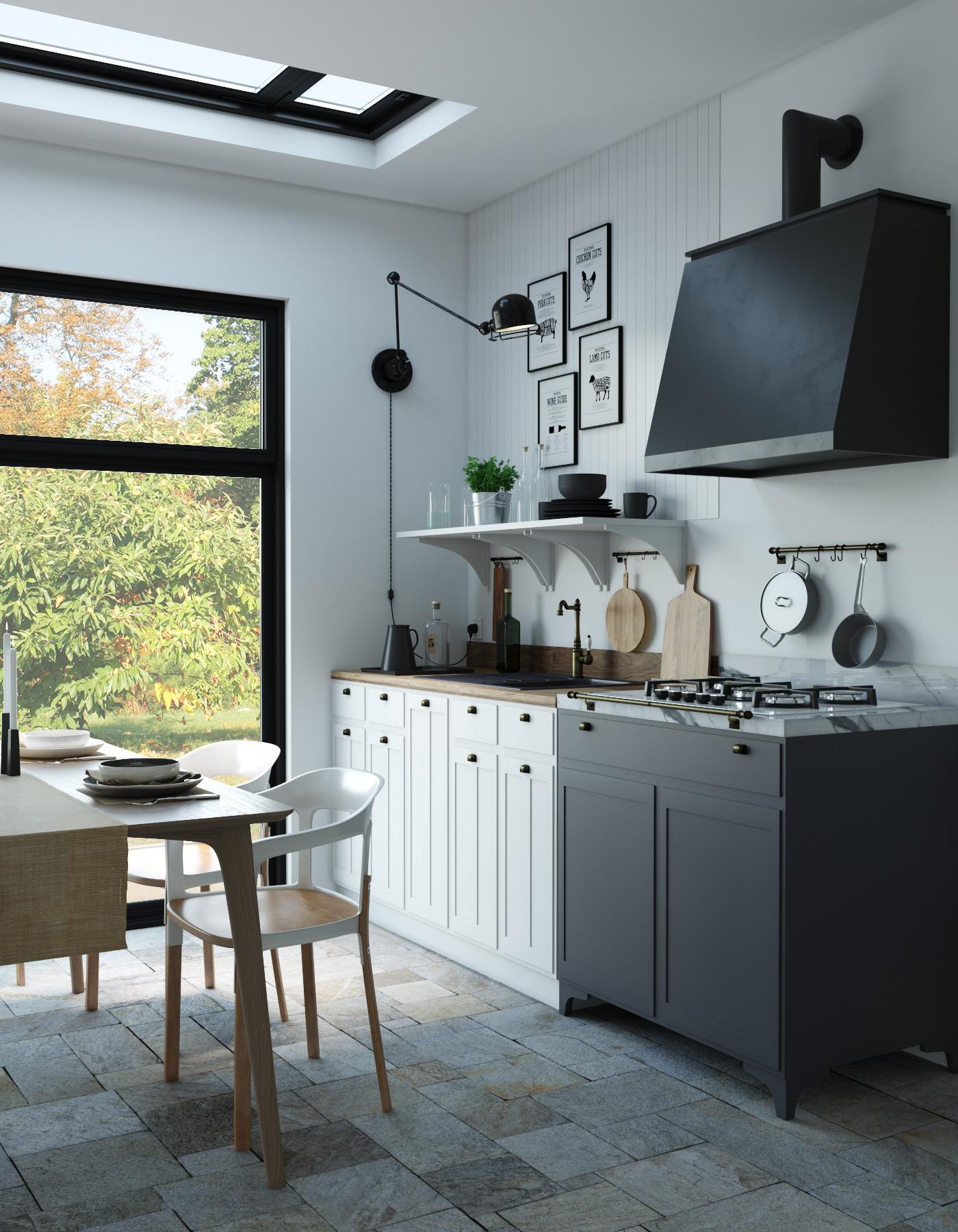 ArtStation - Kitchen Italian Design , Fabrizio Luchetti