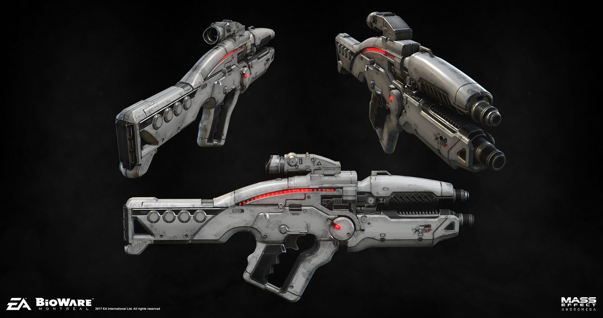X5 Ghost Mass Effect Andromeda: More Popular Weapon Designs: More Ergonomic, More