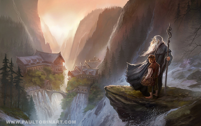 Overlooking Rivendell