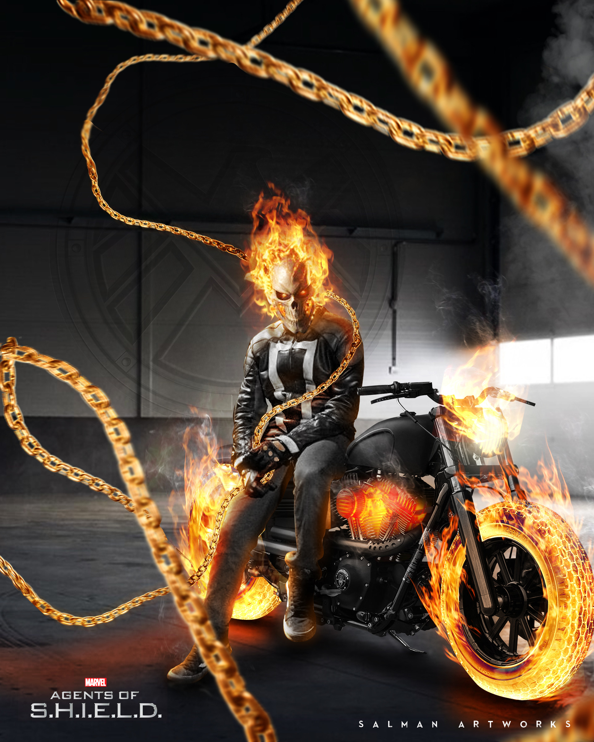 Salman a al mohammadi ghostrider bike