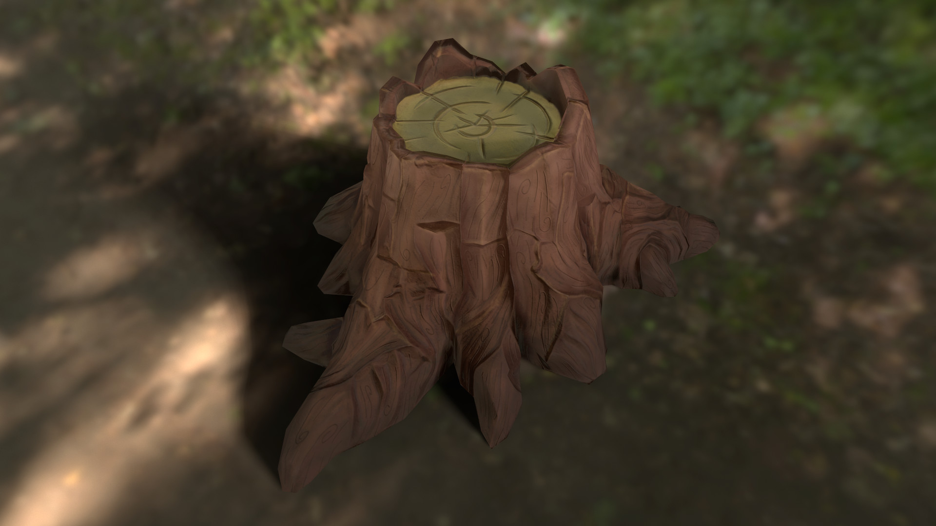 Gianluca Rubino Cartoon Tree Stump Couple of cartoon stylized textures for personal project. gianluca rubino cartoon tree stump