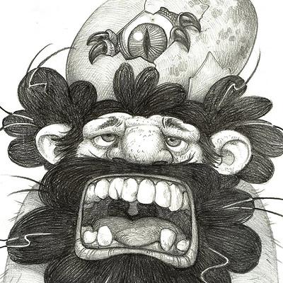 Edin durmisevic caveman and the egg