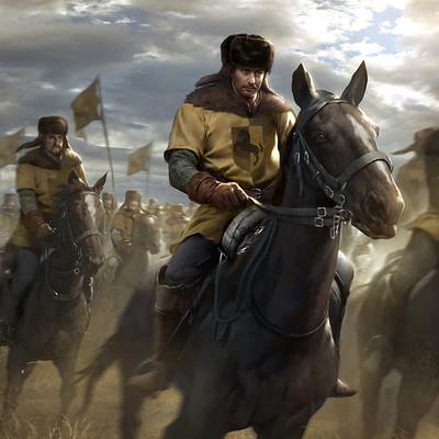 Lius lasahido dun banner light cavalry