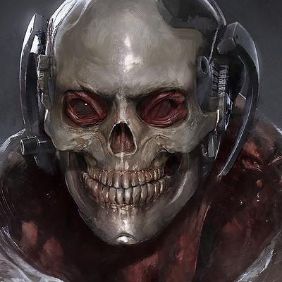 Yuan cui space skull final