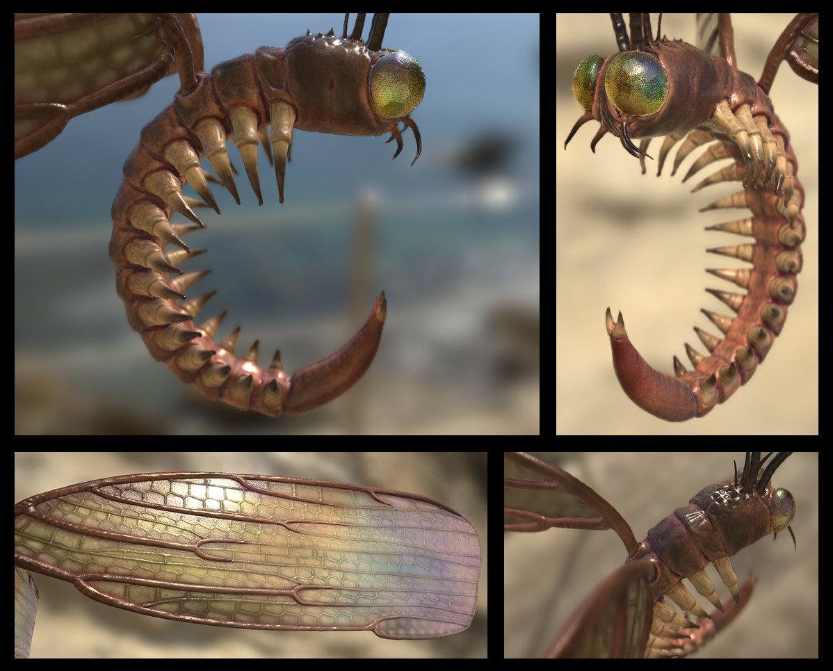 Shading / Texturing done with Substance Painter (images from viewport)