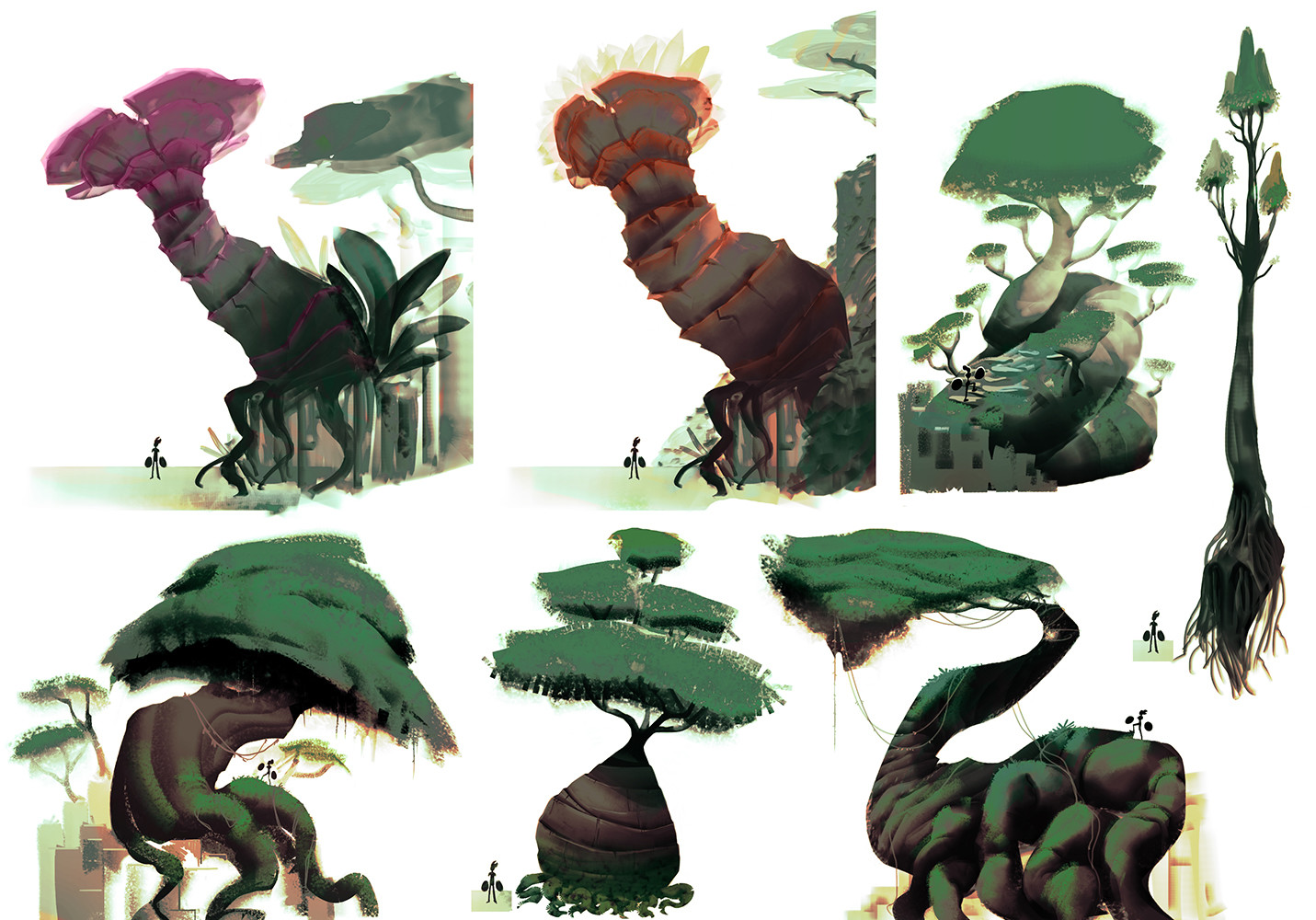 Alexis rives arbres concepts