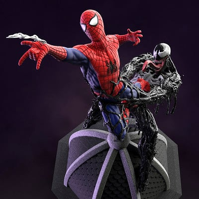 Ken calvert spiderman test renders 2 6