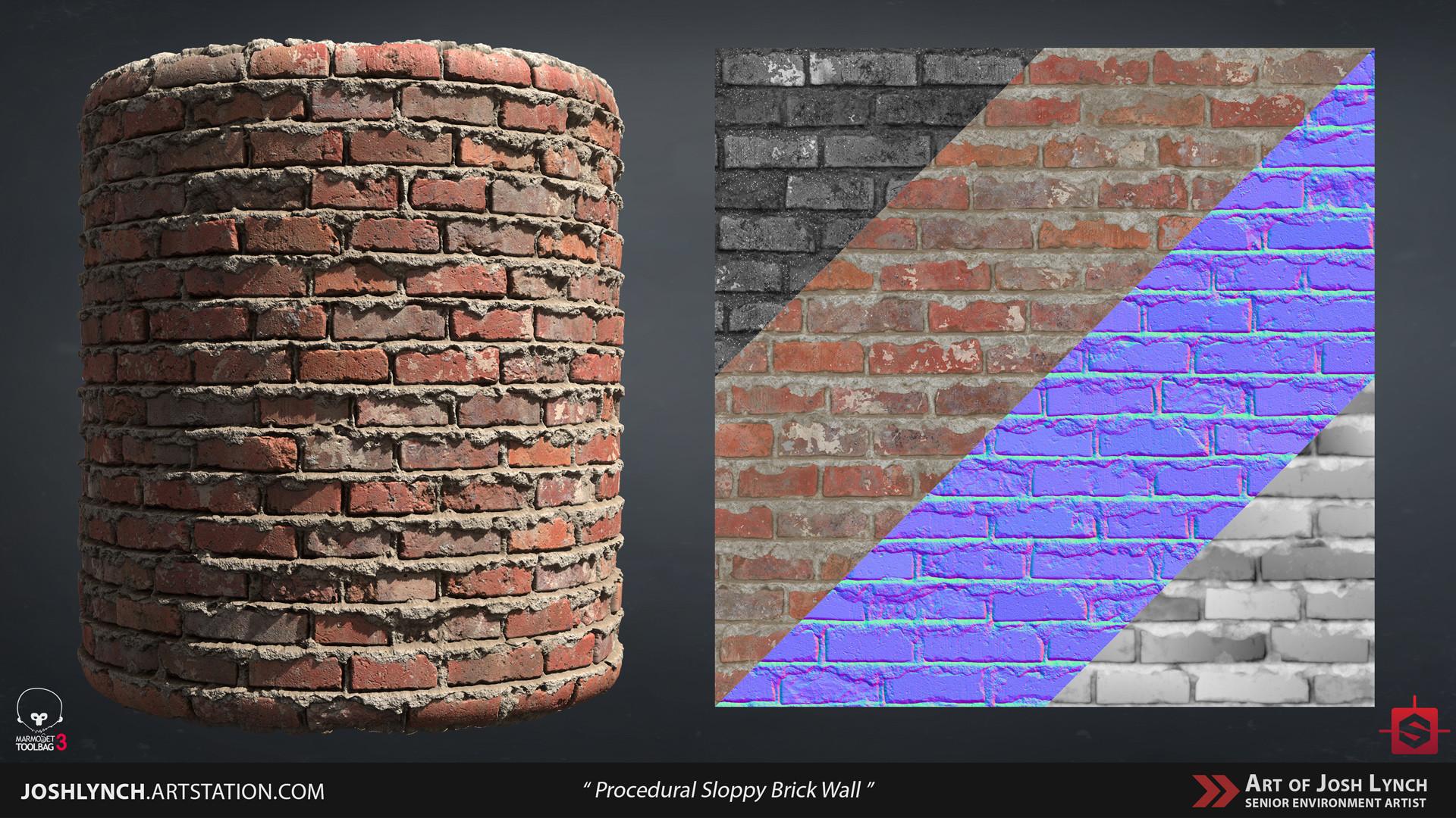 Joshua lynch wall brick sloppy 02 layout comp cylinder 02