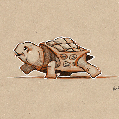 Okan bulbul turtle01