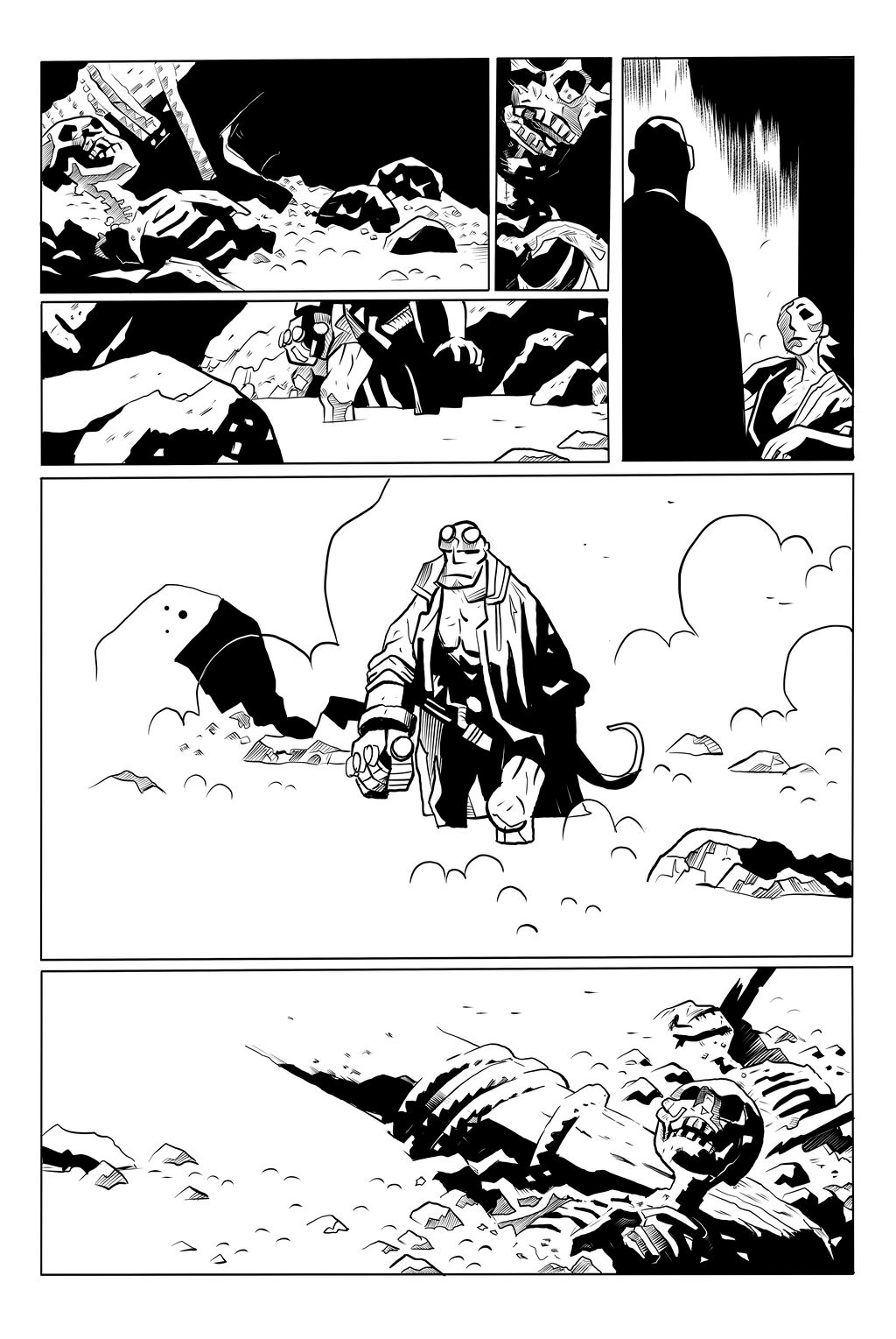 Hellboy - The Island Sample Page 4 of 5