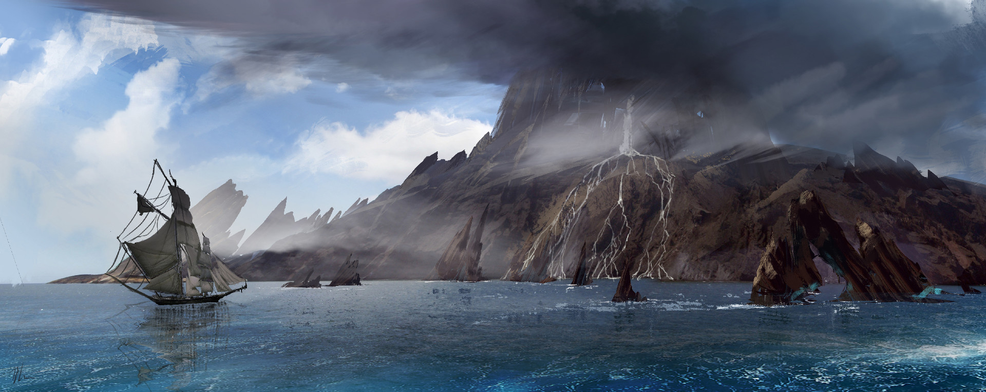 Brent minehan island sketch