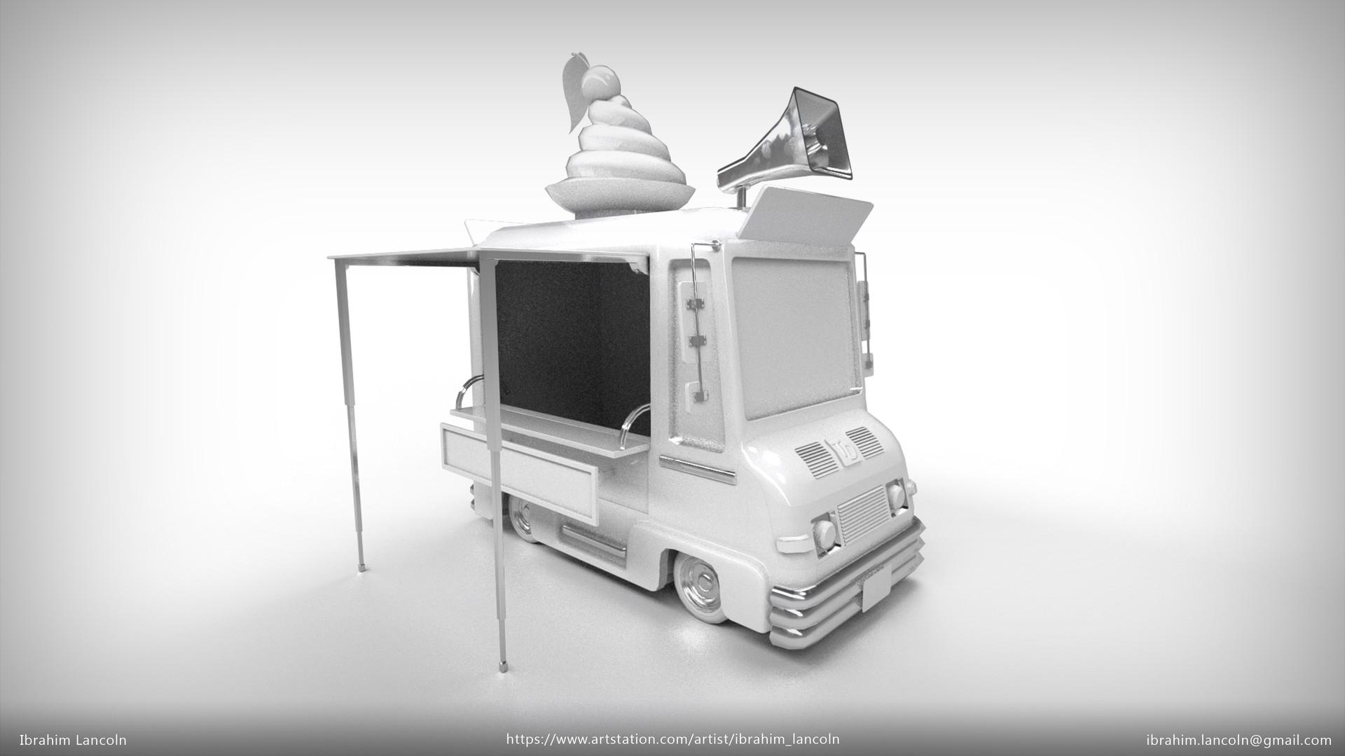 Ibrahim lancoln artstation icecreamtruck 02