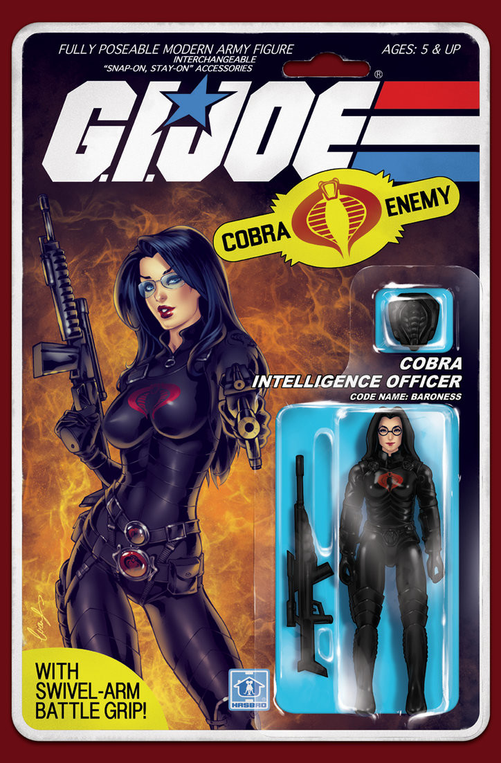 Baroness GI JOE cover