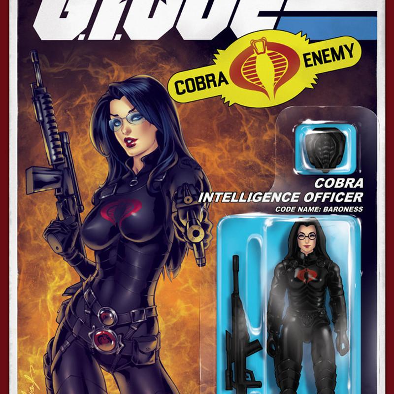 Baroness GI JOE cover