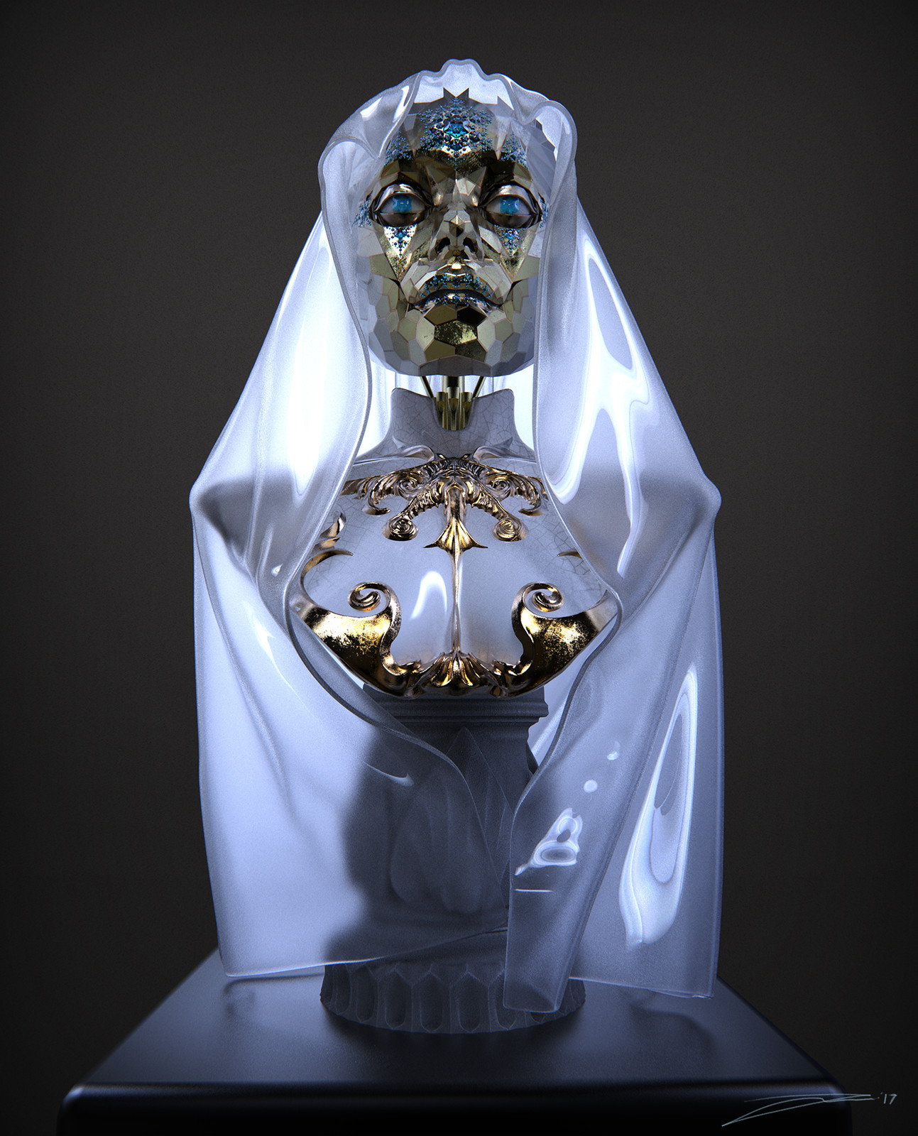 Our Lady of Global Illumination (AKA Wintermute)