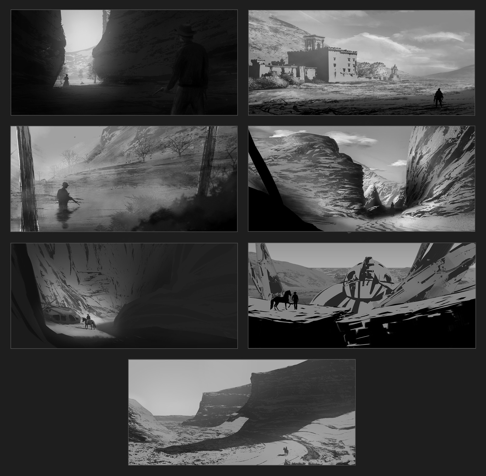 Various Environment thumbs