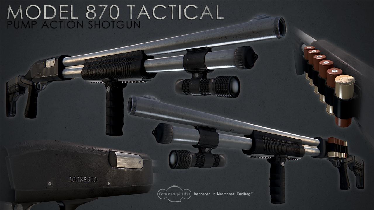 870 Tactical Shotgun