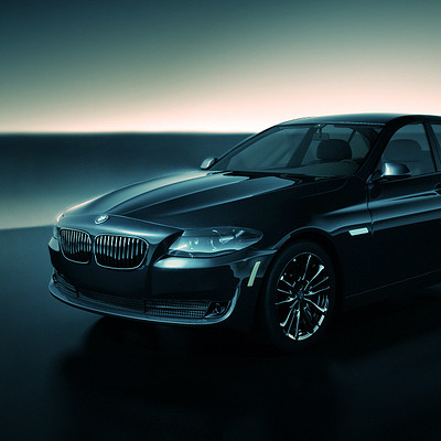 Maxime roch bmw series5 sedan