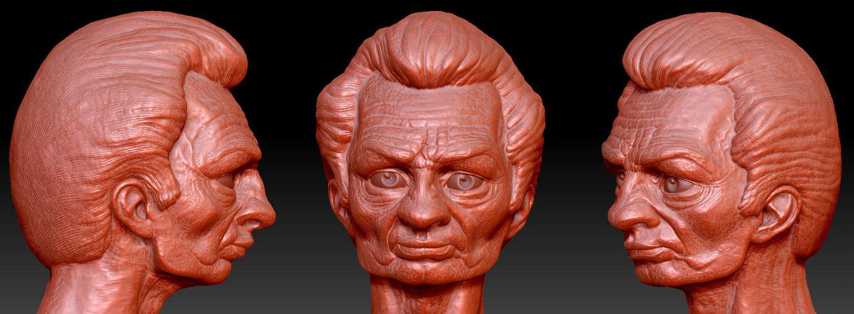Maxime roch headsculpt zbrush