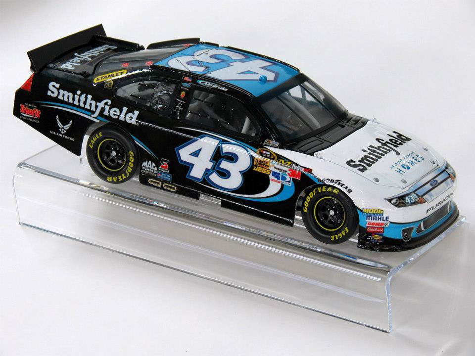 My own personal custom 1/24th scale 2012 #43 Smithfield diecast car