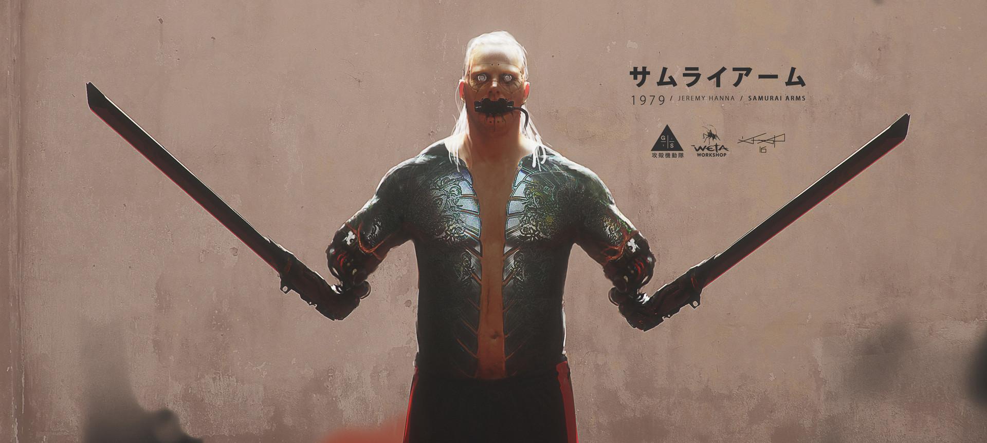 Jeremy hanna samurai arms 01 jh