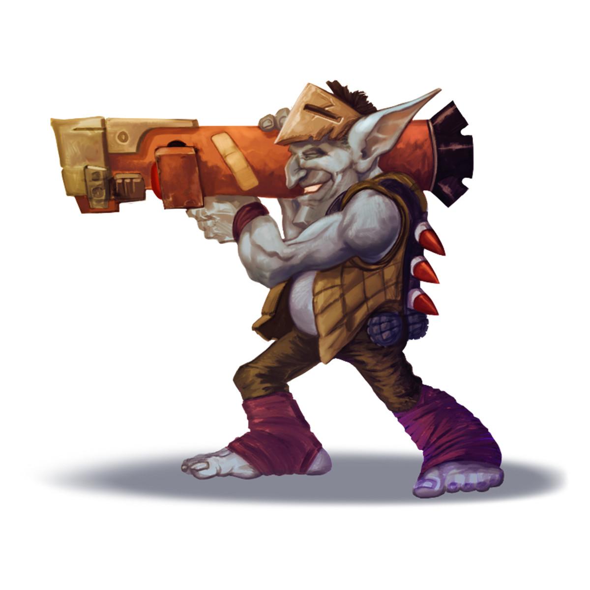 Sal vador thedarkcloak bazookagoblin