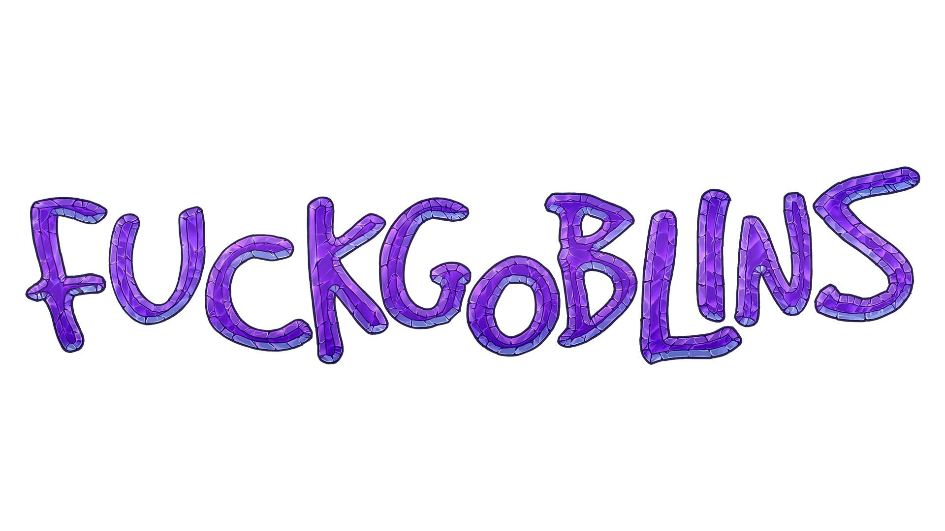 Sal vador thedarkcloak fuckgoblins logo wstroke