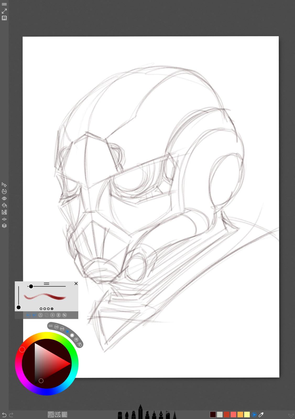 01 - Sketch concept