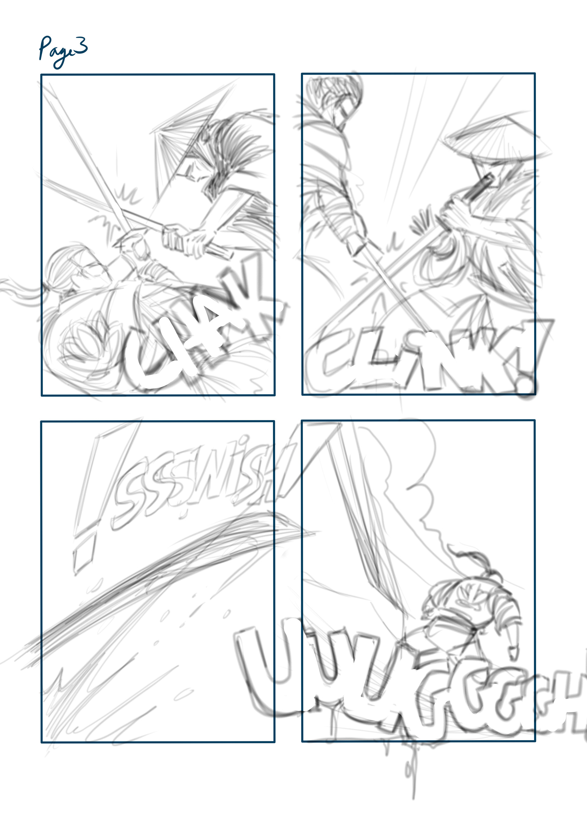 Loc nguyen mini comics page 3pencil