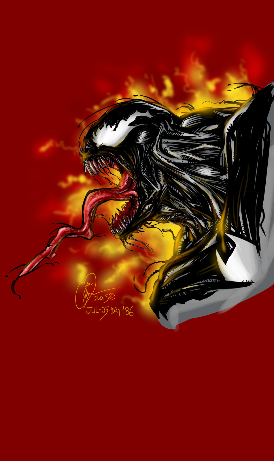 Venom on Fire :)