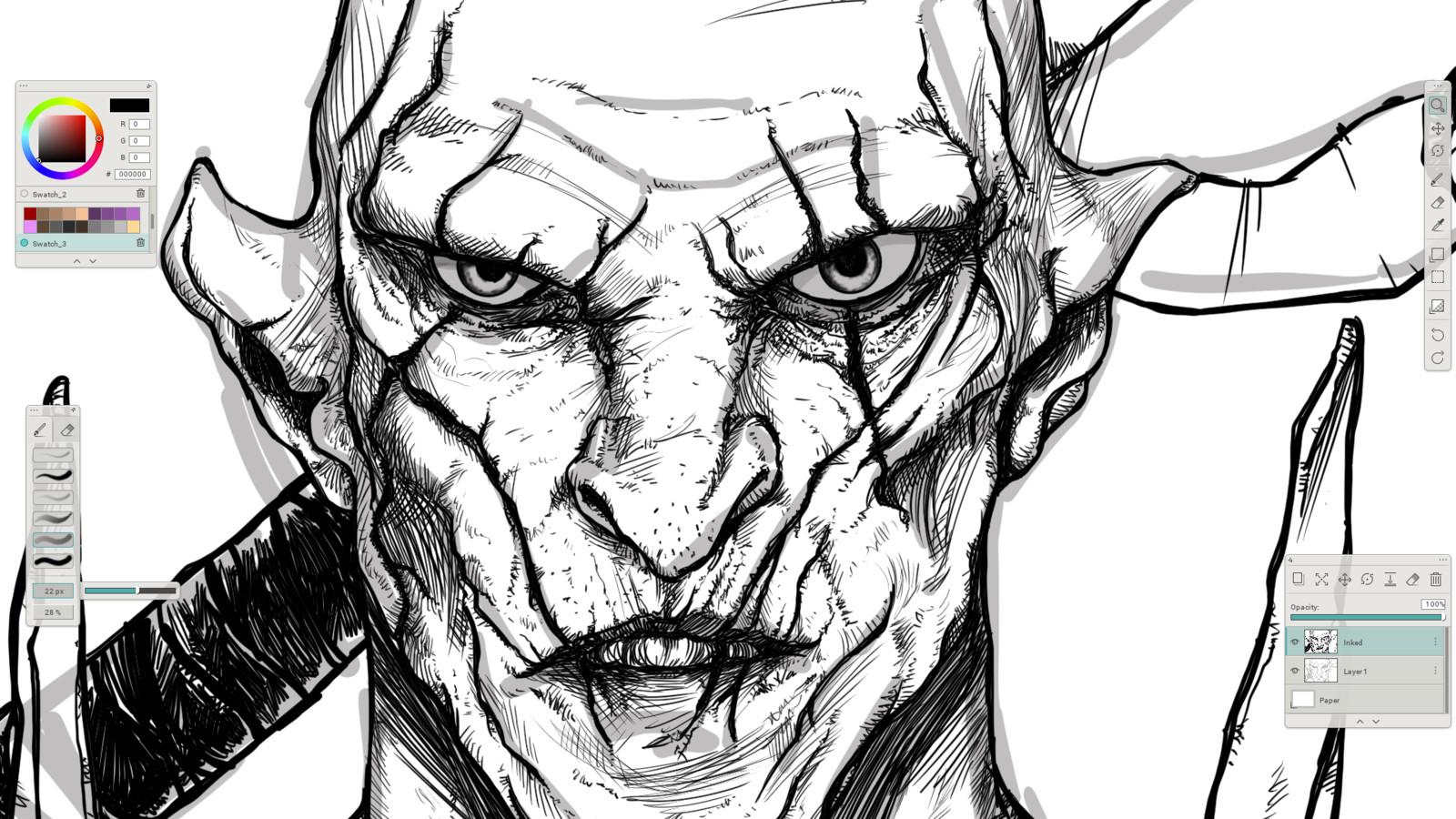 04 - Final face details