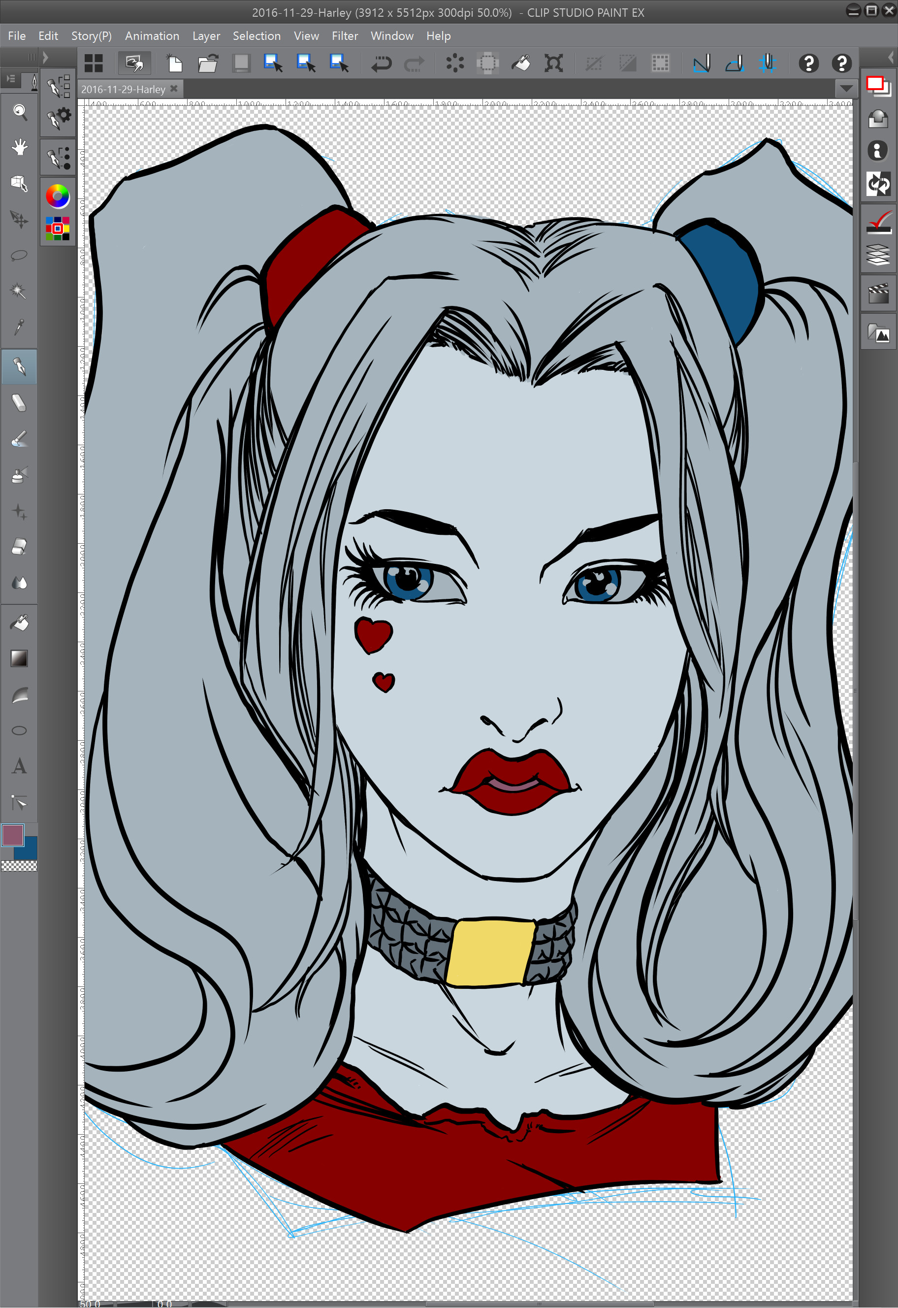 03 - Painting the Flat color