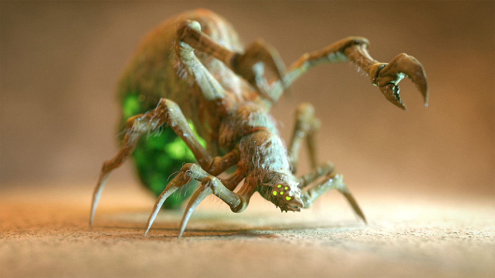 ZBrush speedsculpt - Creepy insect
