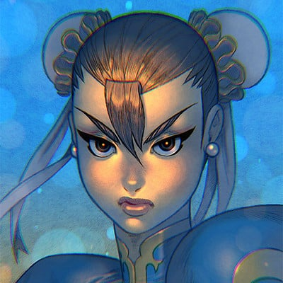 Syko san chun li colours web