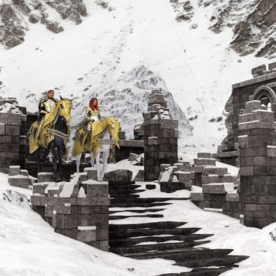David roberson winter crossing part 3 ruins www