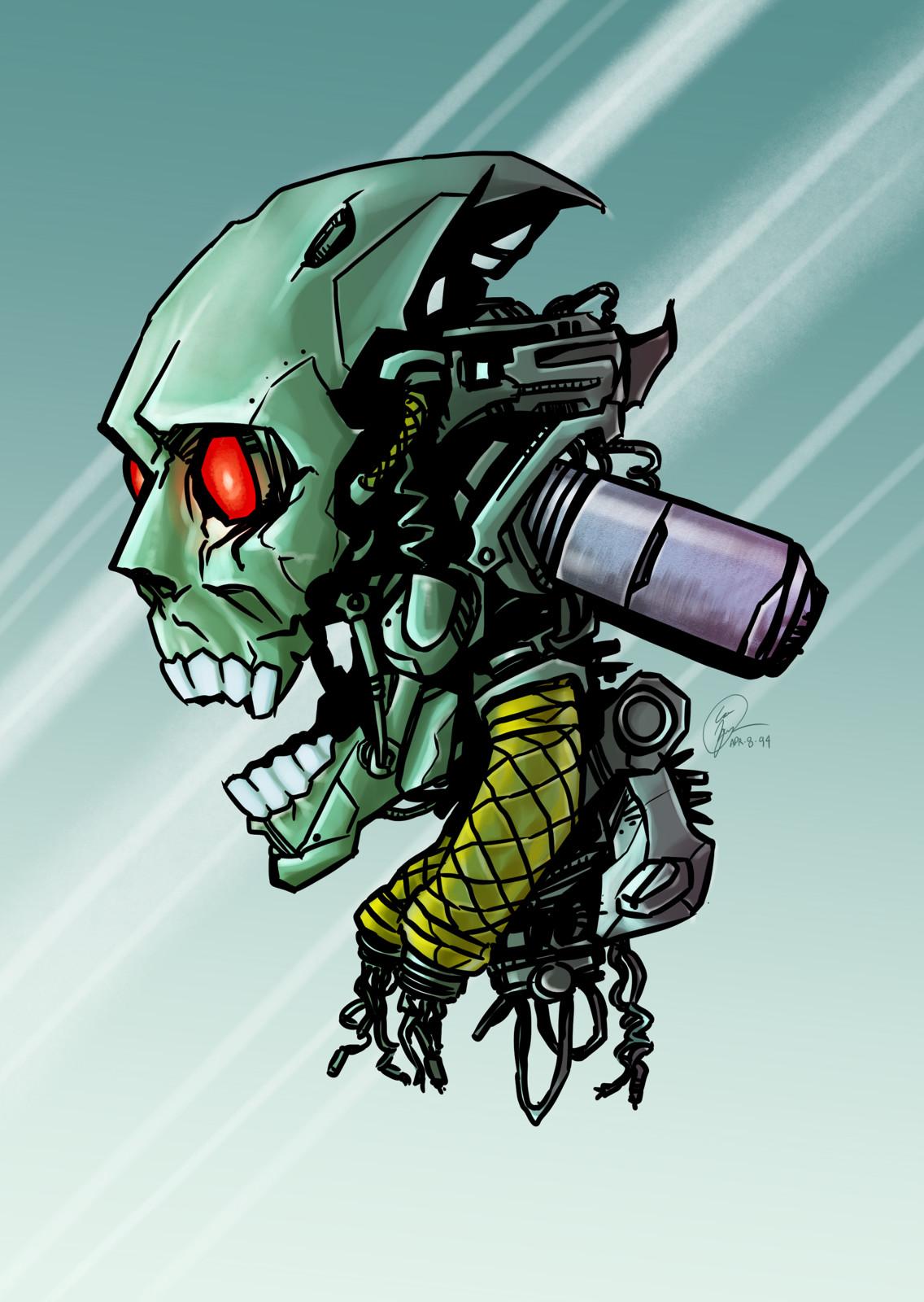Exo-Skull concept