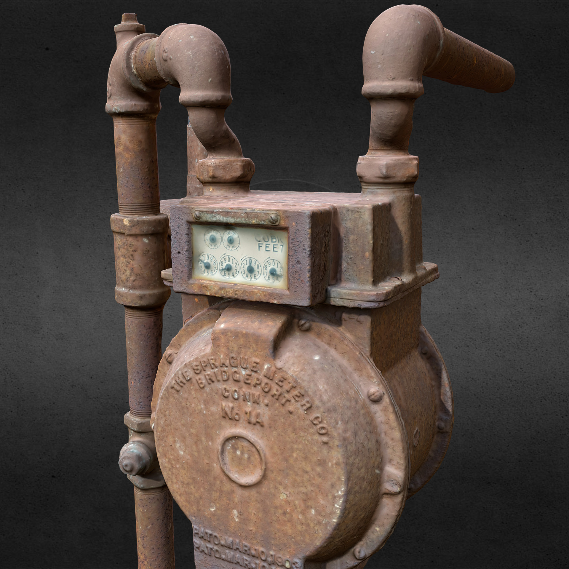 Andre bond gas meter 2