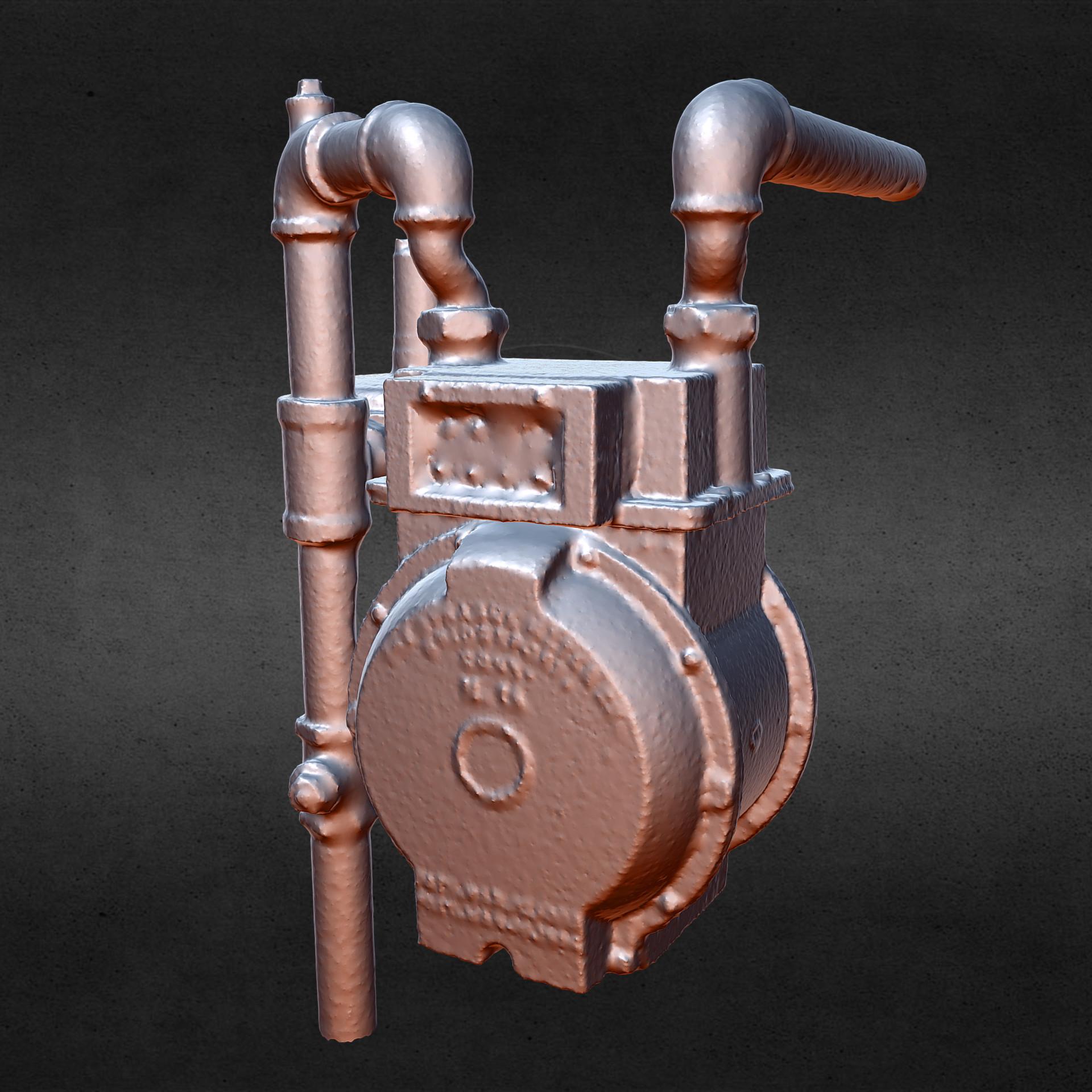 Andre bond gas meter 3