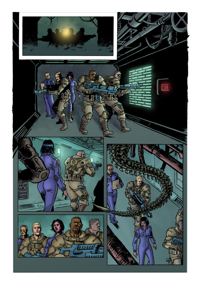 Alien Sample Page 1