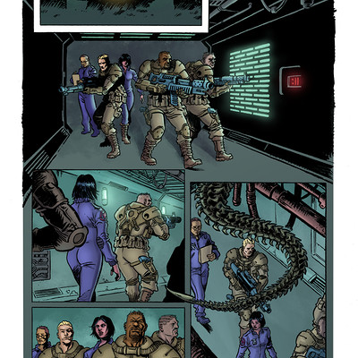 Matt james alien sample page 01 by sergiotarquini d8e105vlr
