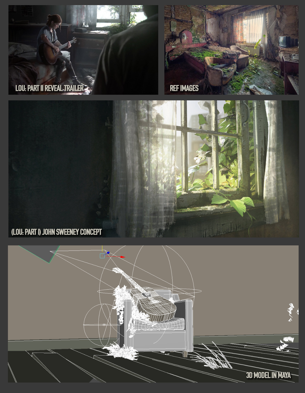 References and 3D