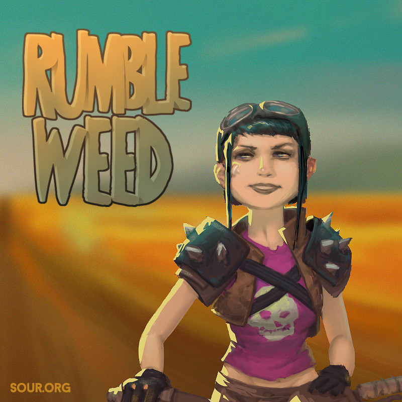 Rumble Weed style test.