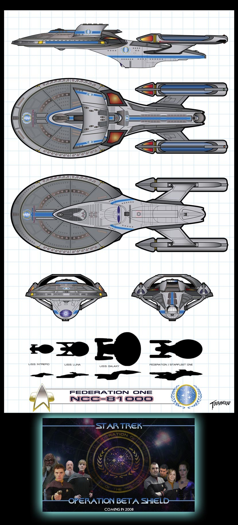 Artstation Federationone Sean Tourangeau Star Trek Engineering Schematics Scroll To See More
