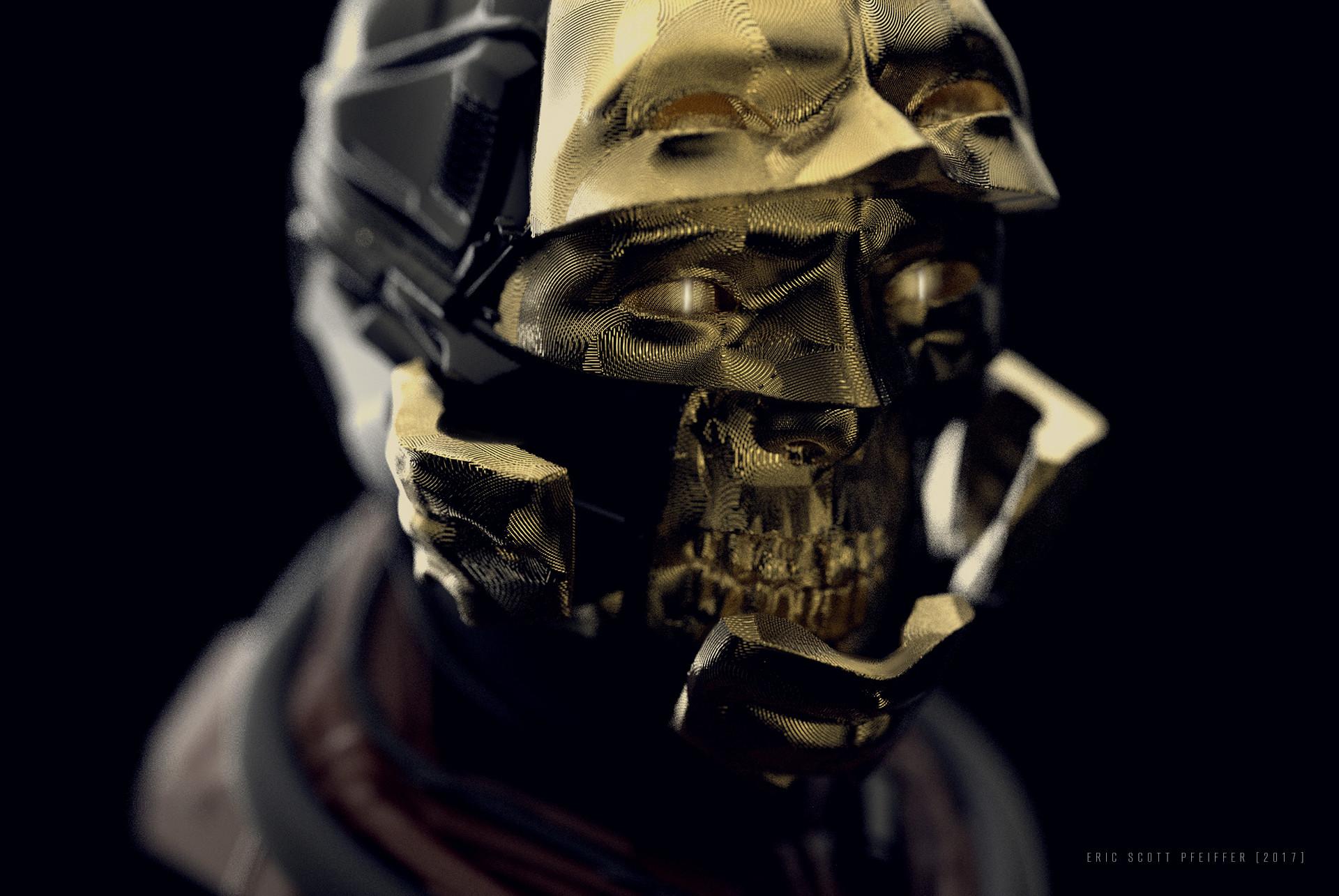 Eric pfeiffer hiddenagendas helmet closeup