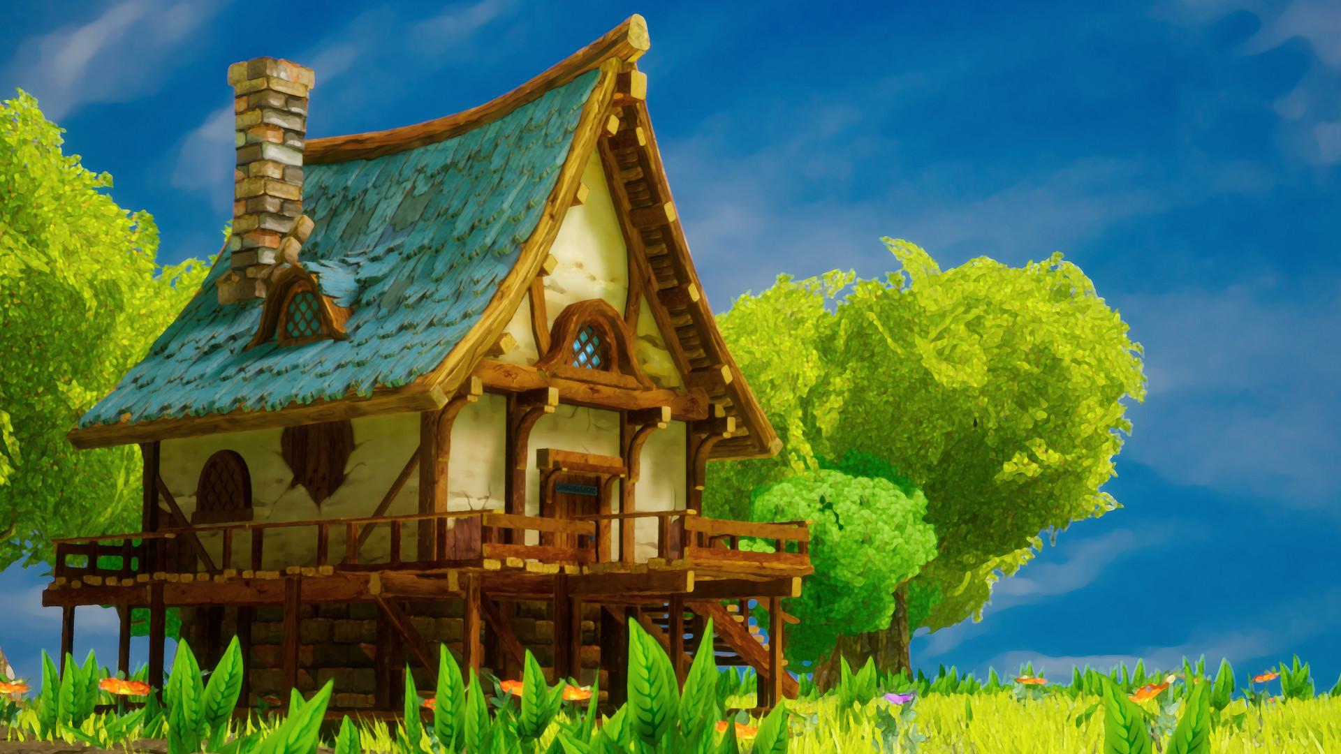ArtStation - Unreal Engine 4 stylized environment rendering