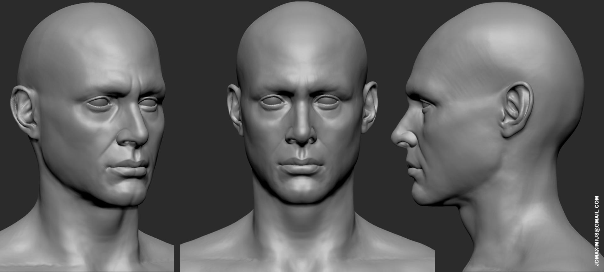 ArtStation - Anatomy Face Practice, Juan Diego Lugo