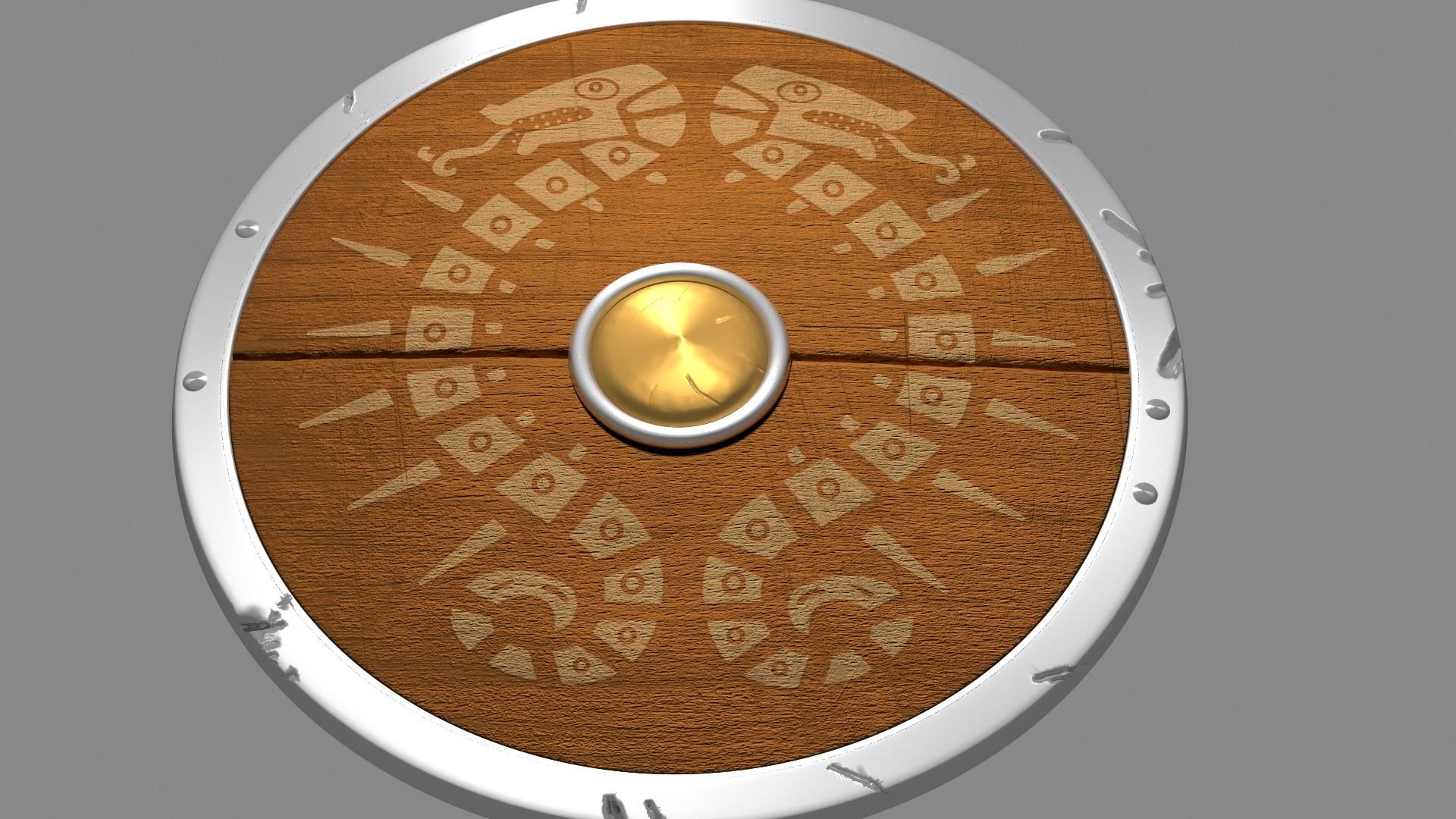 Zelda: link's new shield from BOTW