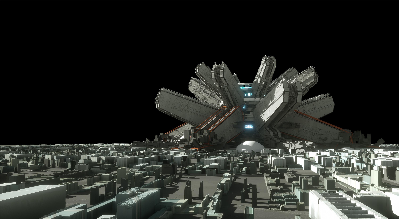 Final 3D render