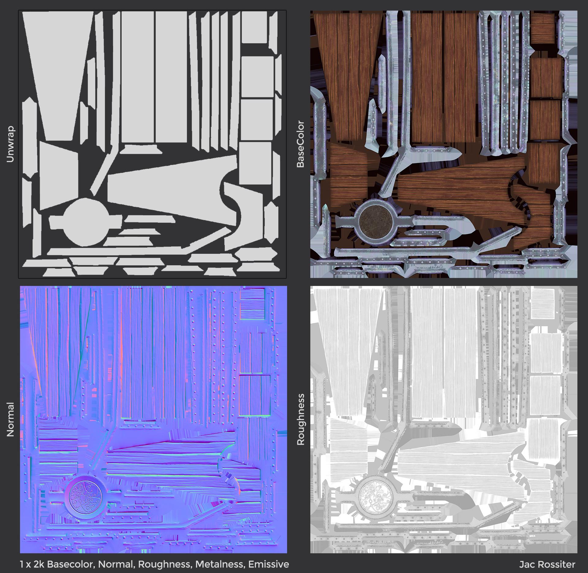 Jac rossiter render coffin textures